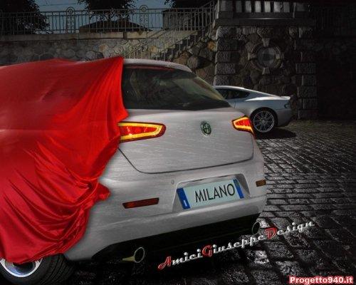 Alfa Milano - parte trasera